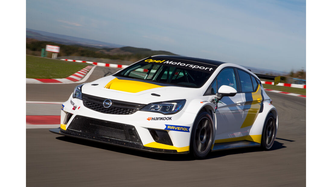 Opel Astra TCR, Tracktest, Nürburgring, Impression