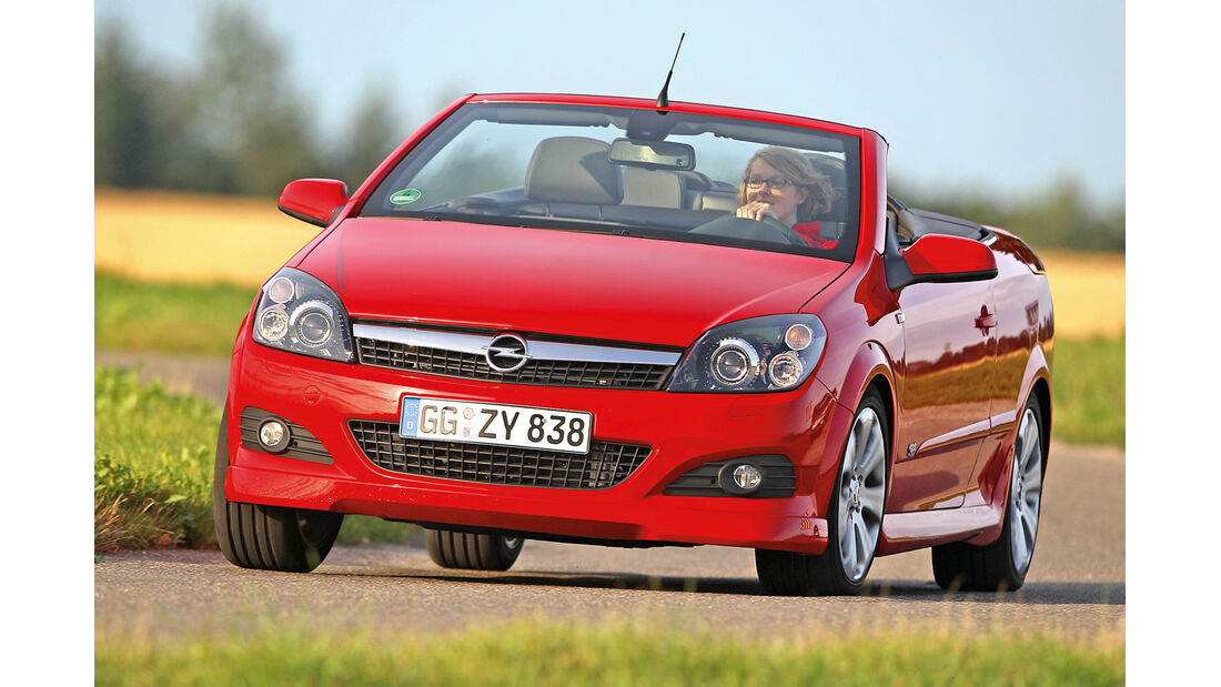 Opel Astra Twin Top 1.6, Frontansicht