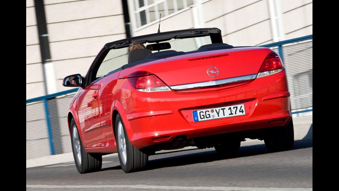 Opel Astra Twin Top 1.6, Heckansicht