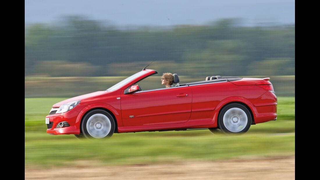 Opel Astra Twin Top, Seitenansicht