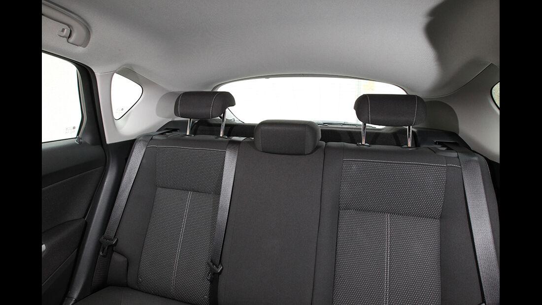 Opel Astra, Übersichtlichkeit, Heckscheibe