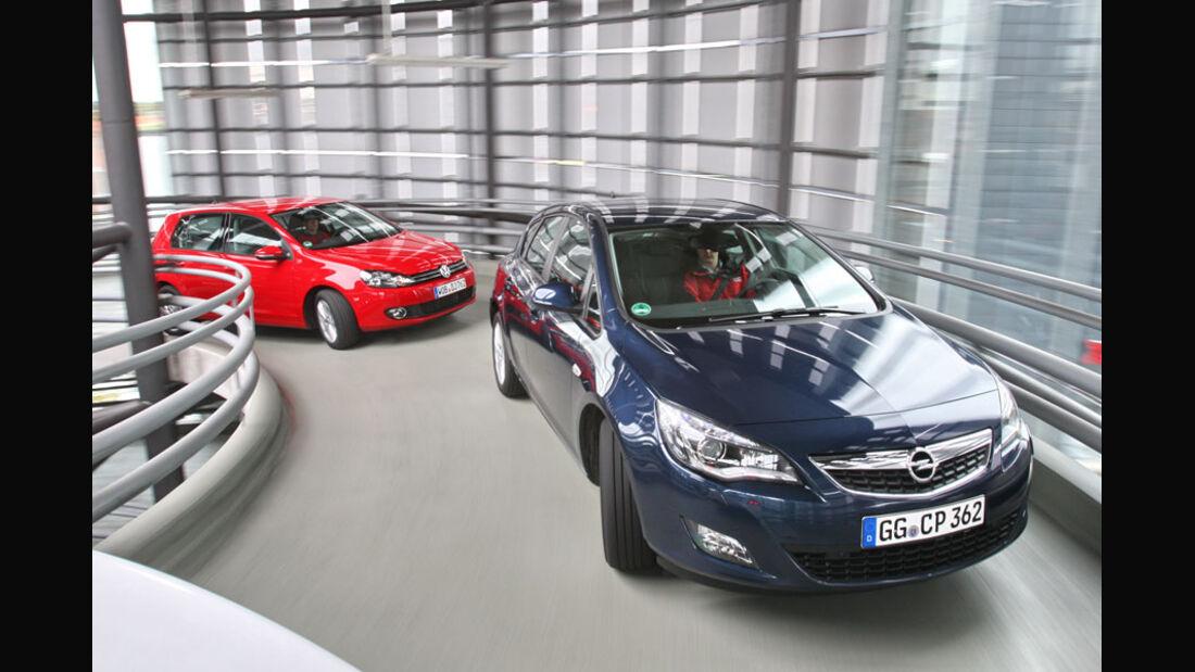 Opel Astra, VW Golf