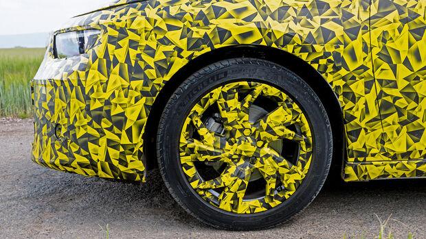 Opel Astra Validierungsfahrt 2021