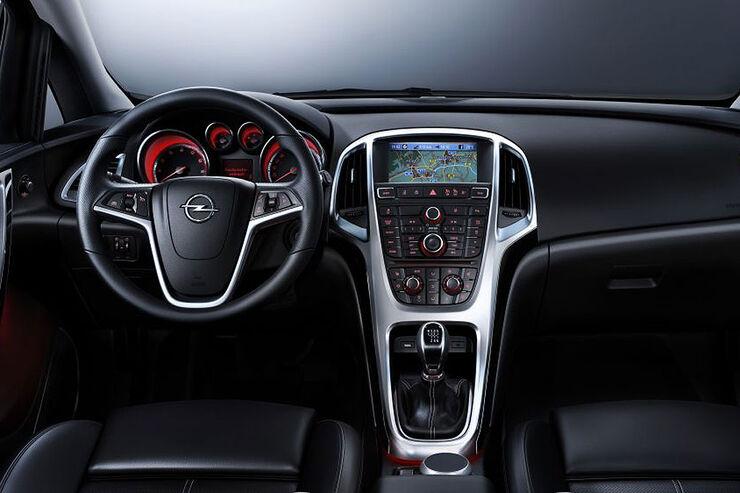 Opel astra erste innenraumbilder auto motor und sport for Innenraum design programm kostenlos