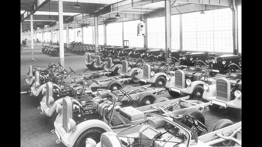 Opel Blitz Fahrgestelle, 1936