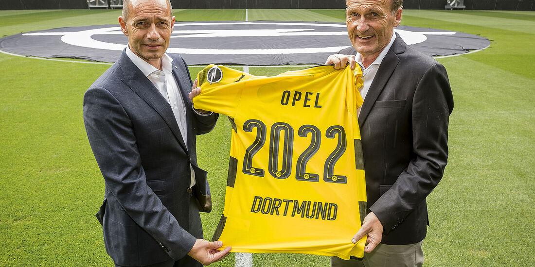 Opel Borussia Dortmund Trikotsponsor