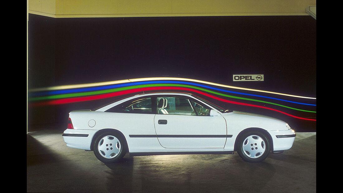 Opel Calibra, 1989