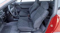 Opel Calibra, Fahrersitz