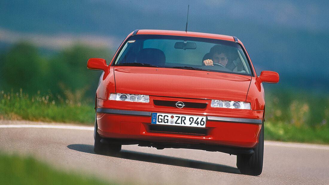 Opel Calibra, Frontansicht