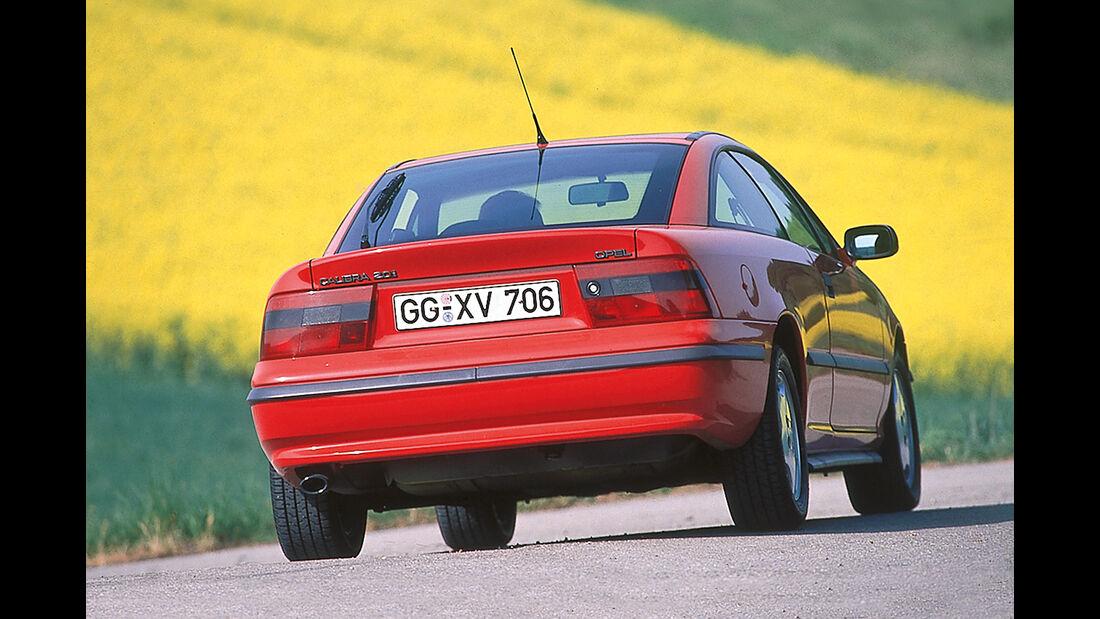 Opel Calibra, Heckansicht