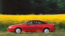 Opel Calibra, Seitenansicht
