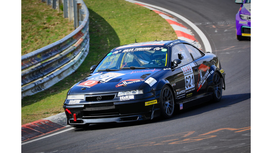 Opel Calibra TJ-R - Startnummer #621 - MSC Adenau - H2 - VLN 2019 - Langstreckenmeisterschaft - Nürburgring - Nordschleife