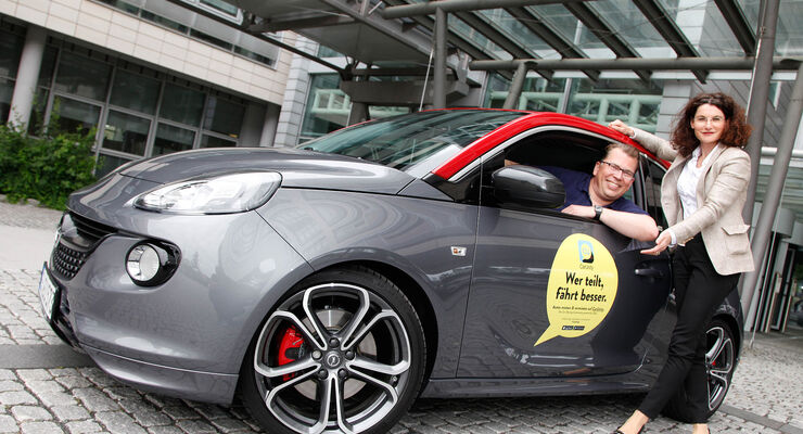 Opel Carsharing Opel CarUnity