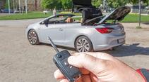 Opel Cascada 1.4 T, Verdeck öffnet