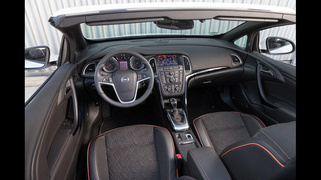 Opel Cascada 1.6 Ecotec Turbo, Cockpit
