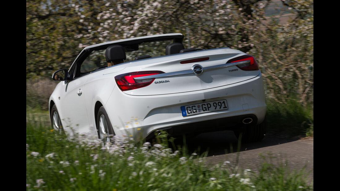 Opel Cascada 1.6 Ecotec Turbo, Heckansicht