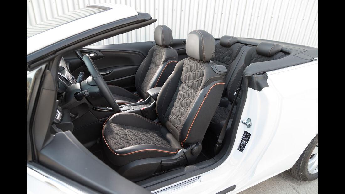 Opel Cascada 1.6 Ecotec Turbo, Sitze