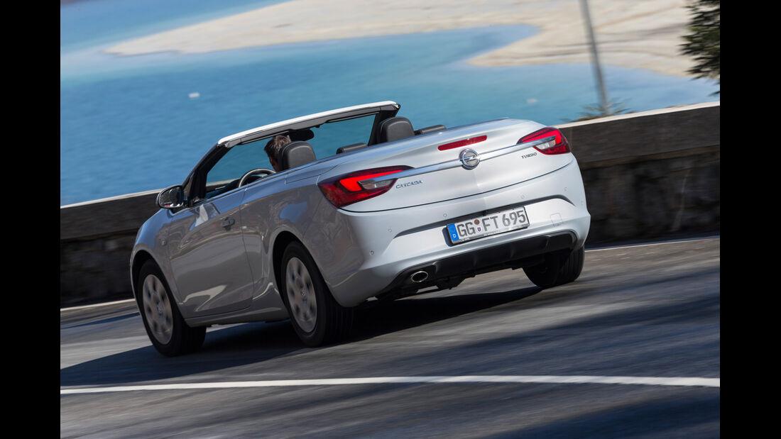 Opel Cascada 1.6 SIDI Turbo, Heckansicht