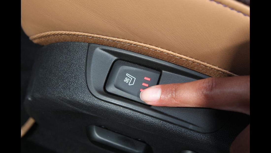 Opel Cascada 1.6 SIDI Turbo, Sitzverstellung