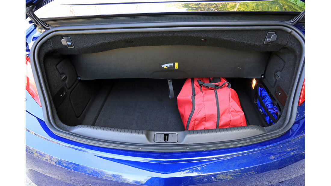 Opel Cascada 1.6 Sidi Turbo, Kofferraum
