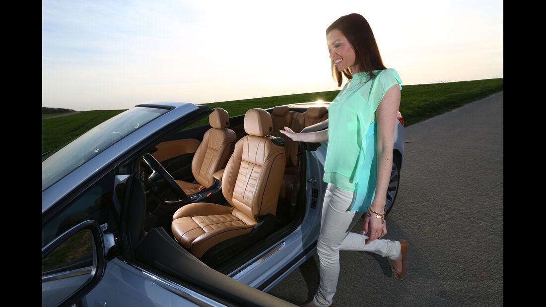 Opel Cascada 1.6 Turbo SIDI Turbo, Fahrersitz, Einsteigen