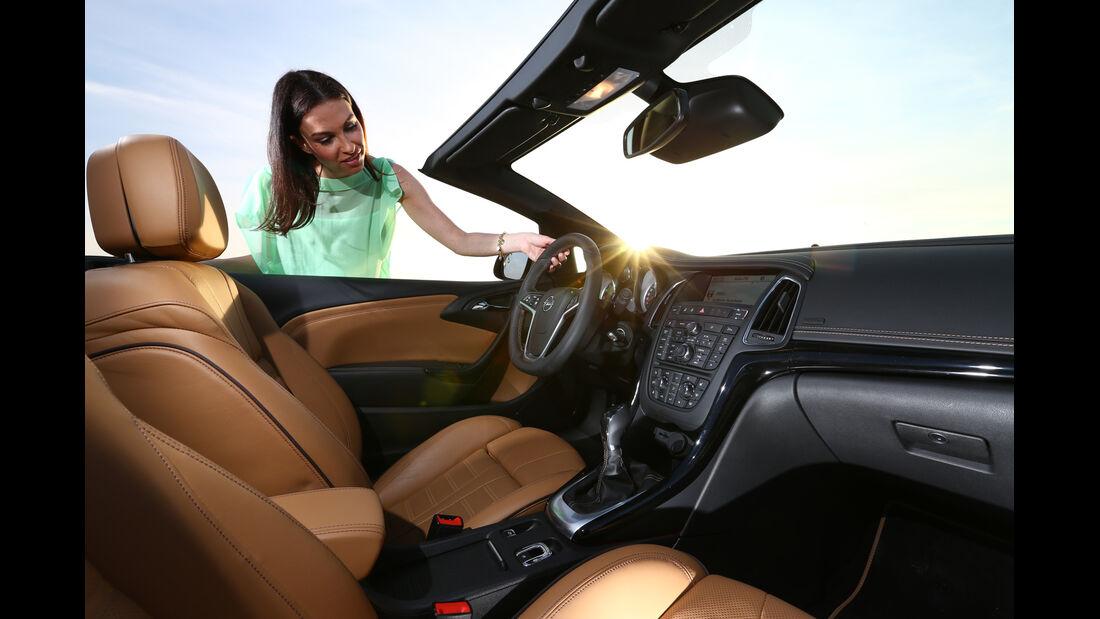 Opel Cascada 1.6 Turbo SIDI Turbo, Sitze, Cockpit