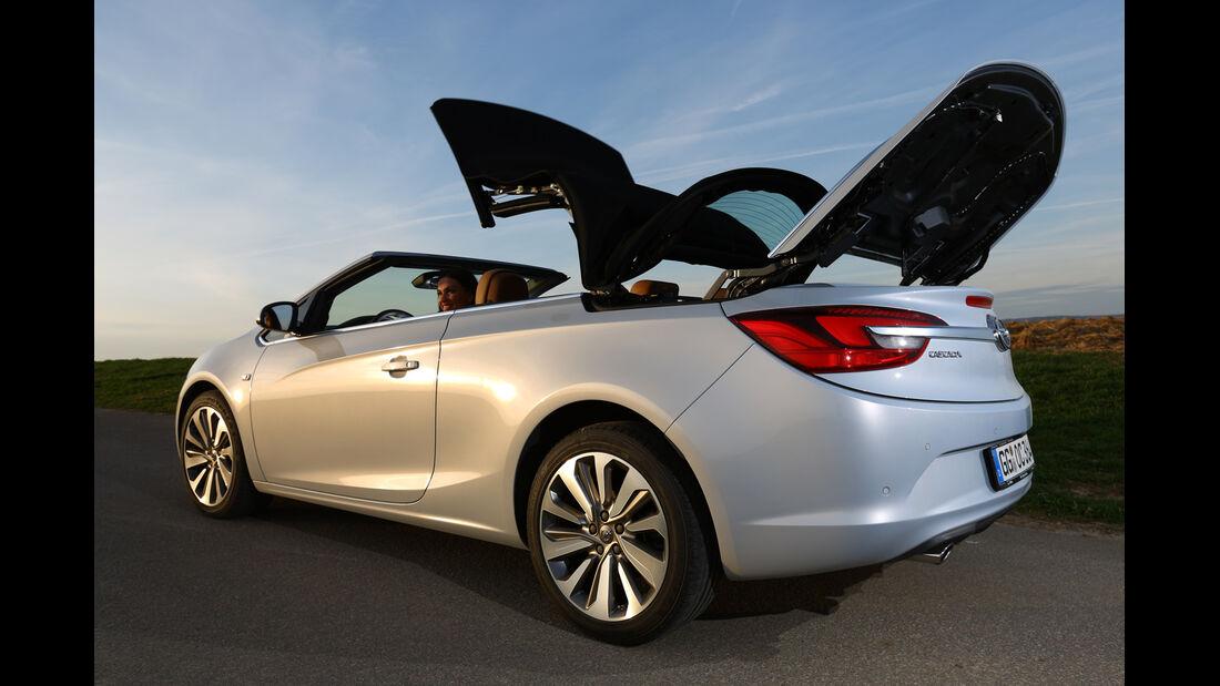 Opel Cascada 1.6 Turbo SIDI Turbo, Verdeck, Öffnet