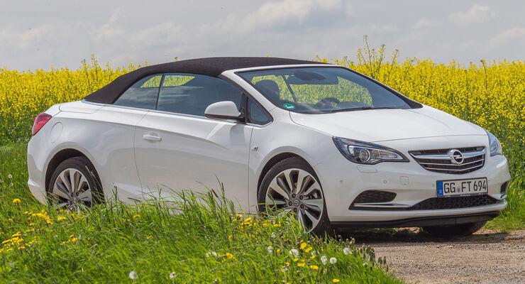 Opel Cascada 2.0 BiTurbo CDTi, Seitenansicht