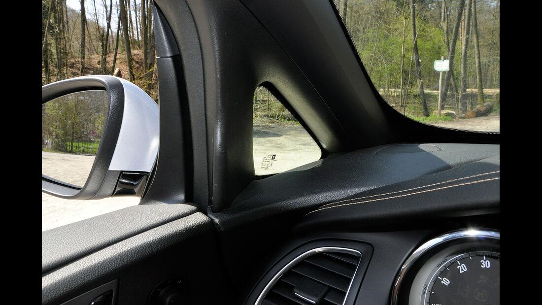 Opel Cascada, A-Säule