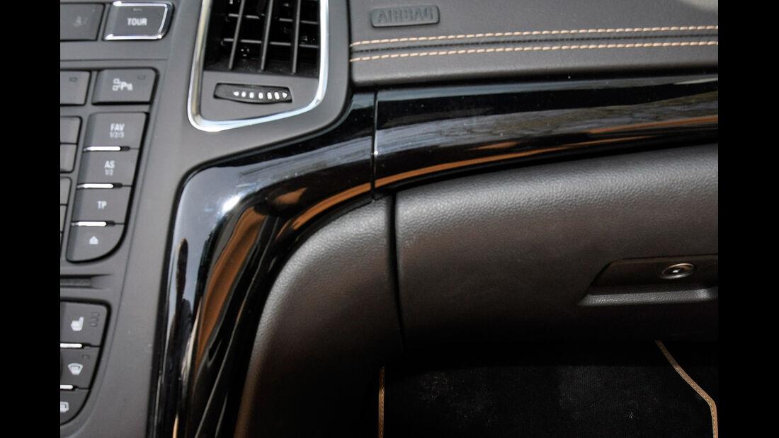 Opel Cascada, Armaturenbrett