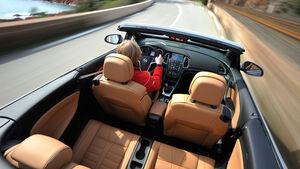 Opel Cascada, Dach offen, Innenraum