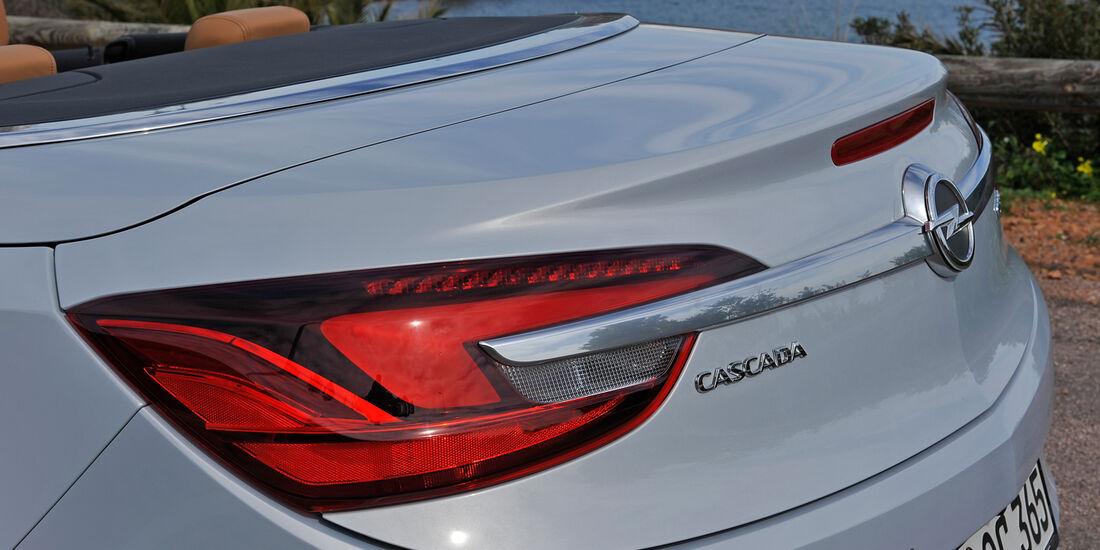 Opel Cascada, Heck, Heckleuchte