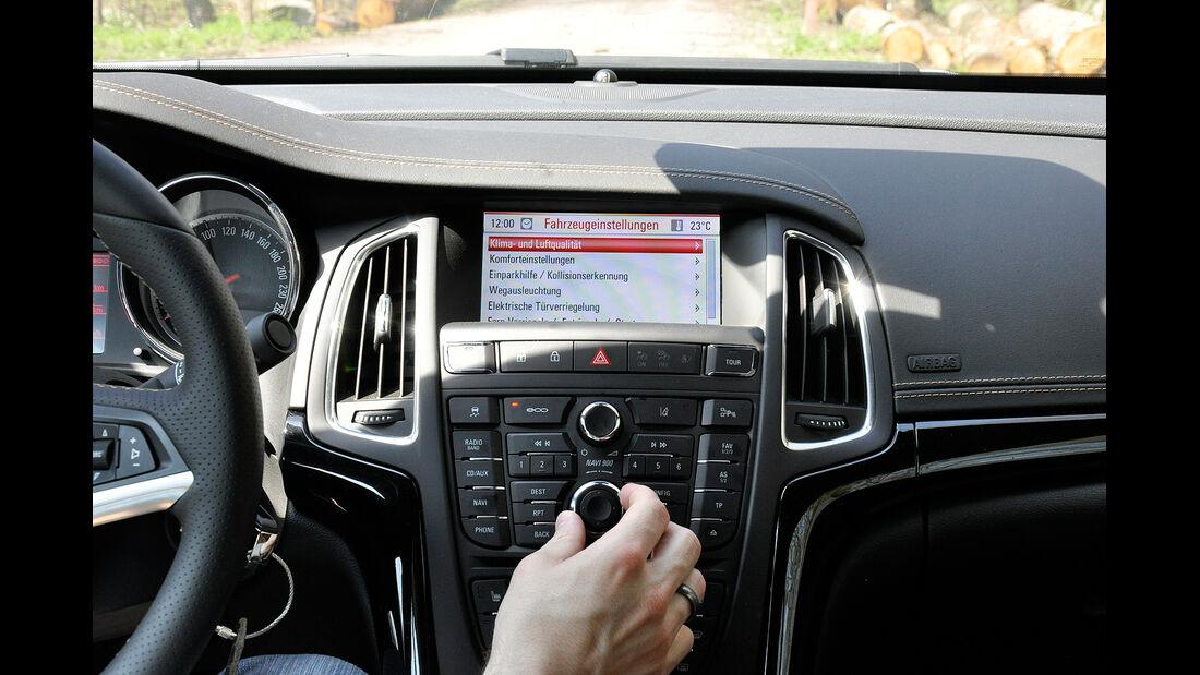 Opel Cascada, Infotainmentsystem