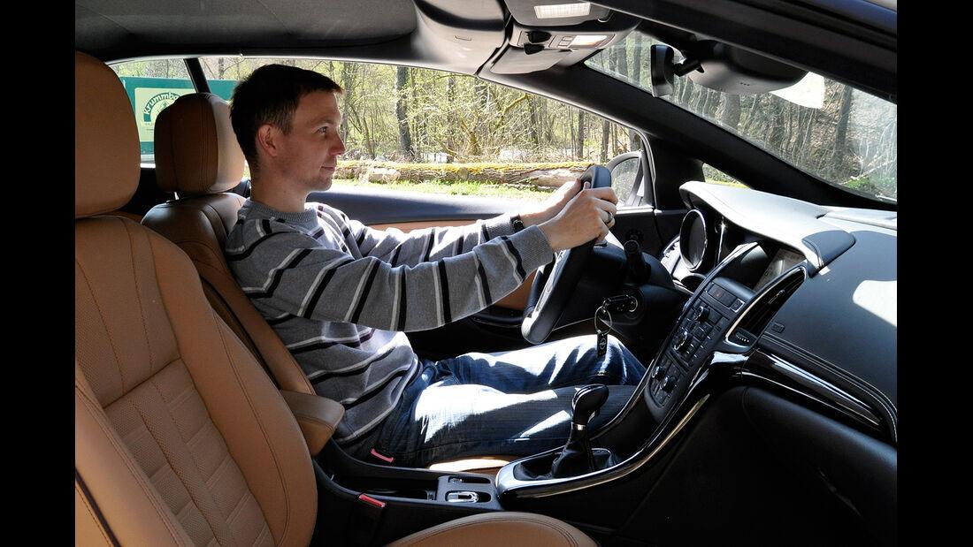 Opel Cascada, Innenraum, Cockpit