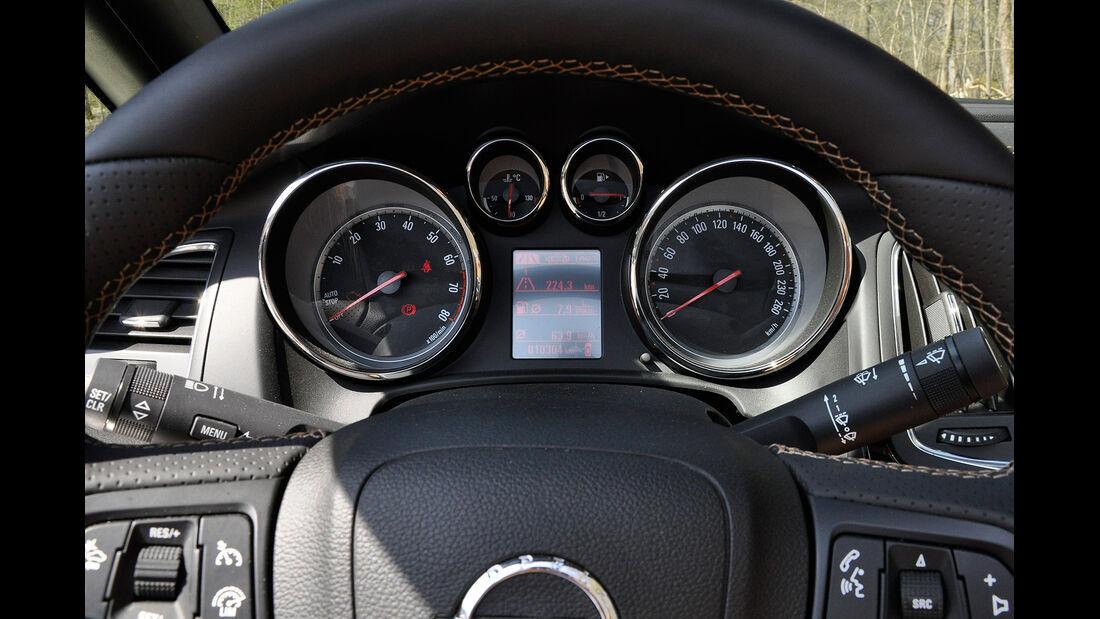 Opel Cascada, Instrumente