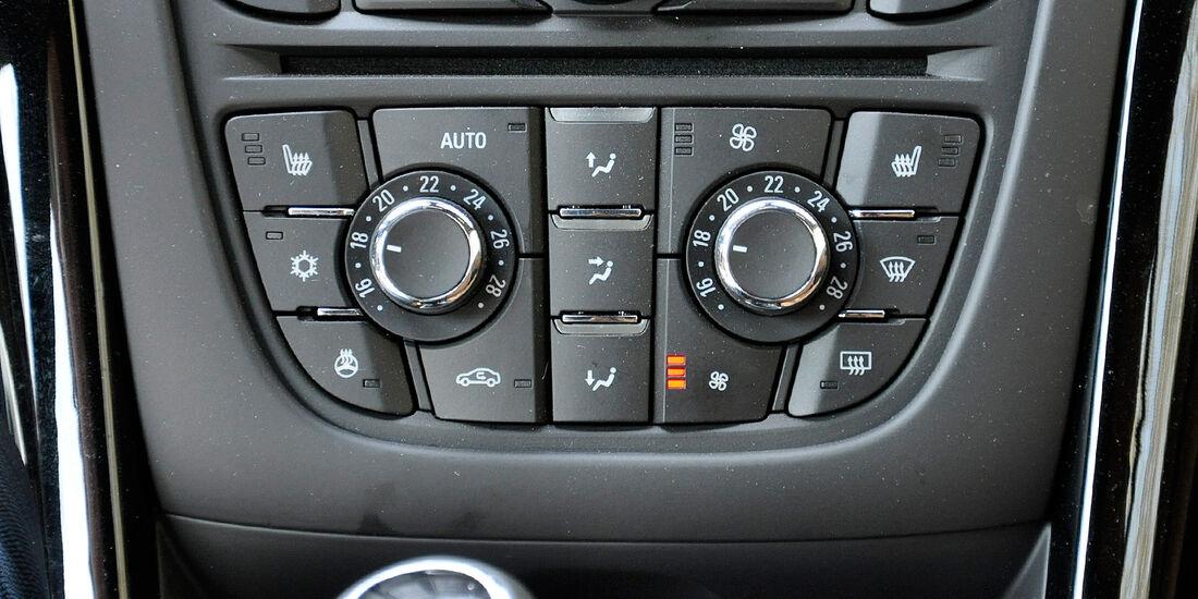 Opel Cascada, Klimaautomatik