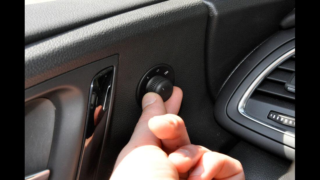 Opel Cascada, Spiegelverstellung elektrisch