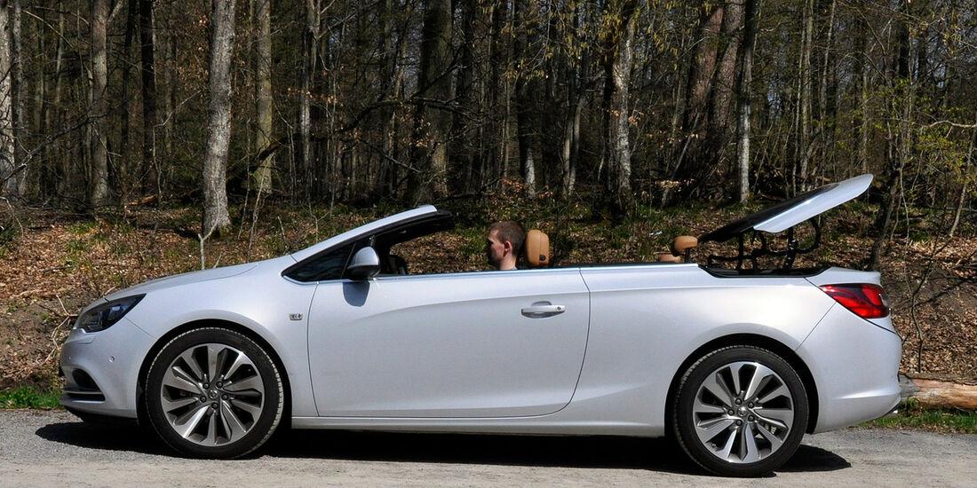 Opel Cascada, Stoffverdeck, Mechanismus