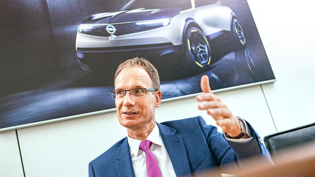 Opel-Chef Michael Lohscheller