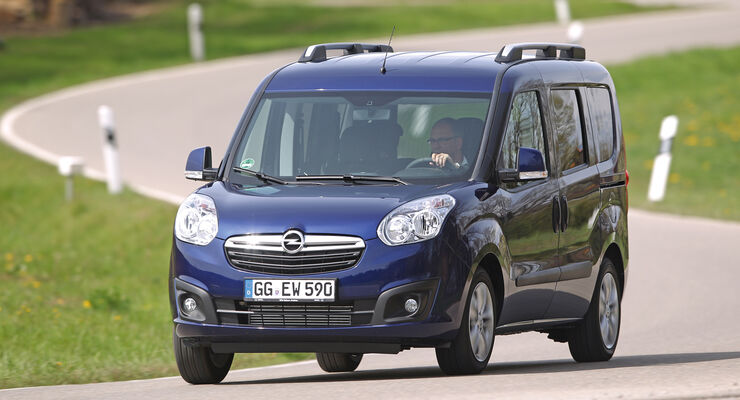 Opel Combo 1.4 Turbo CNG, Frontansicht