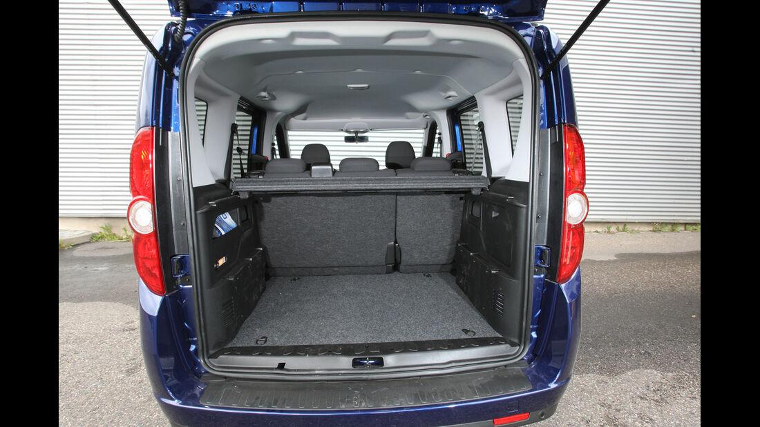 Opel Combo 1.4 Turbo CNG, Kofferraum, Ladefläche