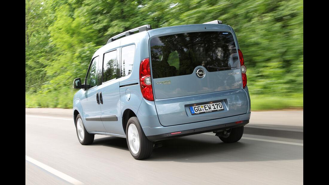 Opel Combo 1.6 CDTi, Heck