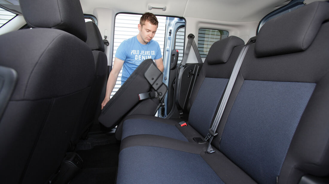 Opel Combo 1.6 CDTi, Rücksitz, umklappen