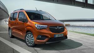 Opel Combo E-Life Sperrfrist 10.2.2021