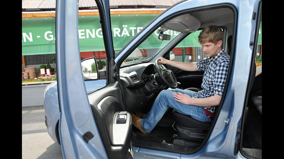 Opel Combo, Fahrersitz