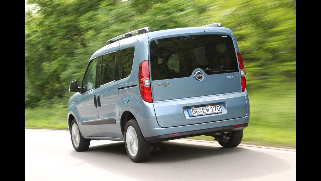 Opel Combo, Heckansicht