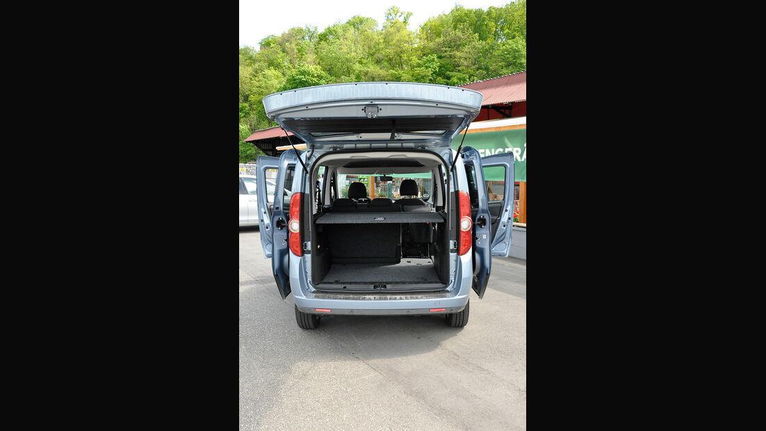 Opel Combo, Hecklappe, Kofferraum
