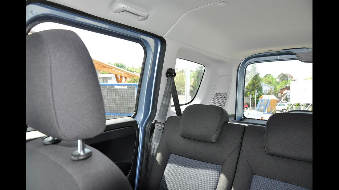 Opel Combo, Innenraum, Übersicht