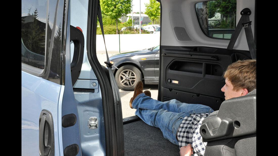 Opel Combo, Kofferraum