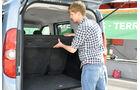 Opel Combo, Kofferraum, Kofferraumabdeckung